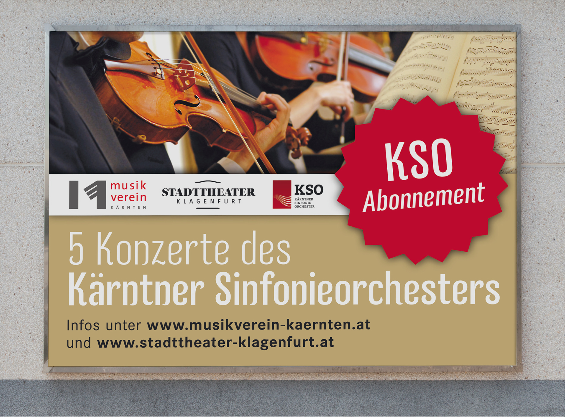 BOSS Grafik | Kärntner Sinfonieorchester